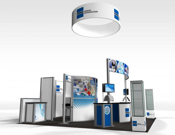 RE-9010 Trade Show Rental Exhibit -- Image 1
