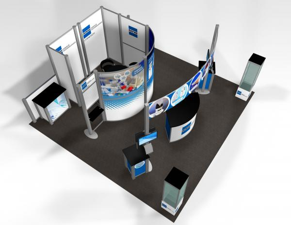 RE-9010 Trade Show Rental Exhibit -- Image 4