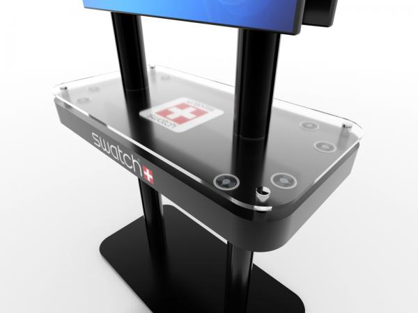 MOD-1477 Trade Show Monitor Stand Charging Station -- Image 3