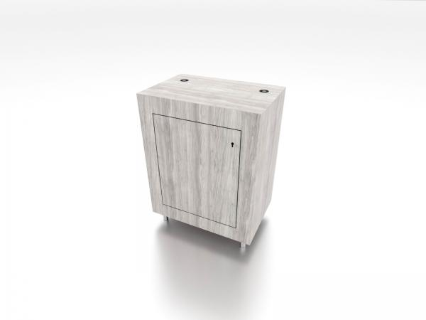 MOD-1575C Trade Show Pedestal with Charging Ports