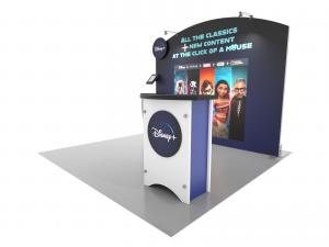 SYK-1026 Symphony Portable Displays -- SEG Press Fit Fabric Graphics