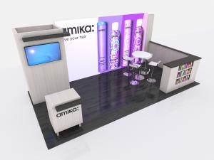 VK-4019 Trade Show Inline Exhibit -- Image 1